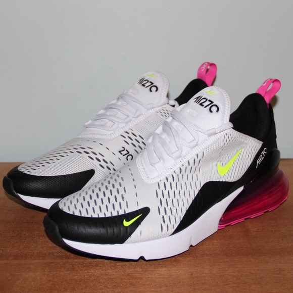 reputable site 8e855 c7d55 NEW Nike Air Max 270 Volt Fuschia Men's 10.5